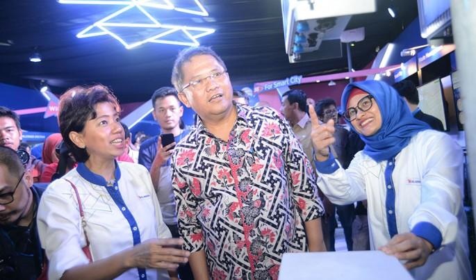 Xl Axiata uji coba layanan berbasis 5G dan WiGig untuk mendukung Jakarta Smartcity.Foto/Roni.M/ECONOMICZONE
