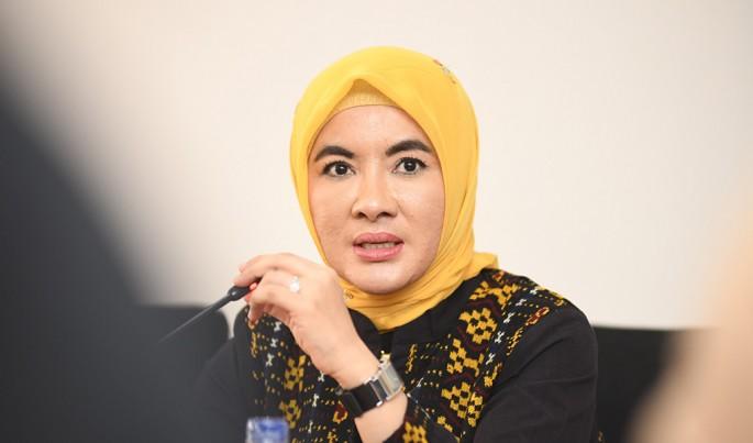 Dirut Pertamina Nicke Widyawati.Foto/Roni.M/ECONOMICZONE