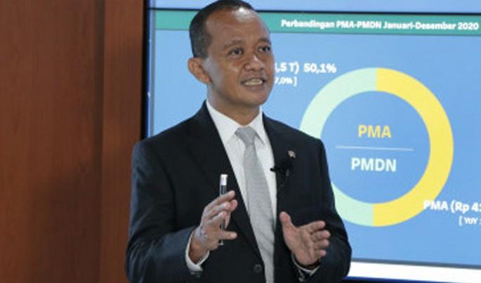Kepala Badan Koordinasi Penanaman Modal (BKPM) Bahlil Lahadalia.Foto/Dok-BKPM/ECONOMICZONE