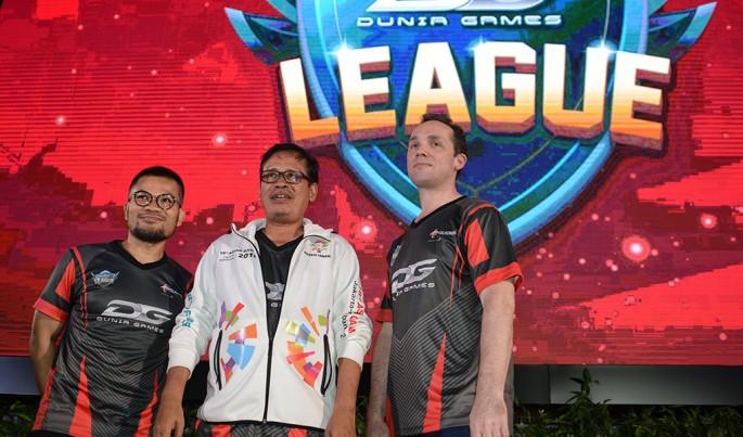 peluncuran Liga eSport yang digelar oleh Dunia Games Telkomsel, (17/10).Foto/Roni.M/ECONOMICZONE