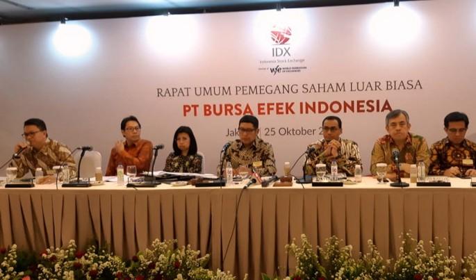 Rapat Umum Pemegang Saham Luar Biasa Bursa Efek Indonesia.Foto/JAT/ECONOMICZONE