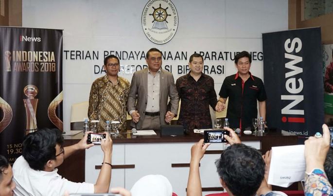 iNews menggelar kembali Indonesia Awards 2018.Foto/JAT/ECONOMICZONE