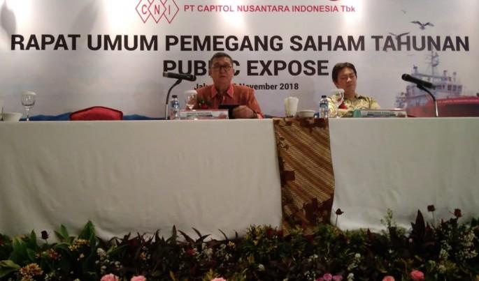 RUPST Capitol Nusantara Indonesia.Foto/JAT/ECONOMICZONE