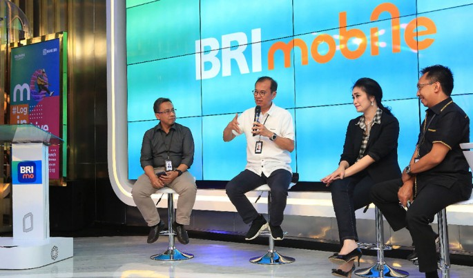 Peluncuran Aplikasi BRImo.Foto/Dok-BRI/ECONOMICZONE
