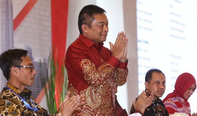 Direktur Utama Telkom Ririek Adriansyah.Foto/Roni.M/ECONOMICZONE