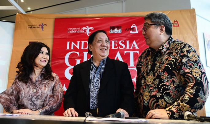 Konferensi Pers Indonesia Great Sale.Foto/HendraWIradi/ECONOMICZONE