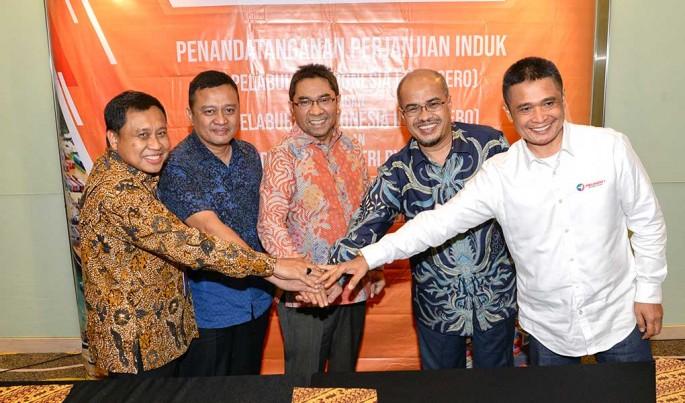 PT Pelabuhan Indonesia II (Persero)/IPC tandatangani Perjanjian Induk tentang Penyiapan Kerja Sama Operasi Pengelolaan Pelabuhan Batu Ampar Beserta Area Pendukungnya di Batam.Foto/Istimewa/ECONOMICZONE