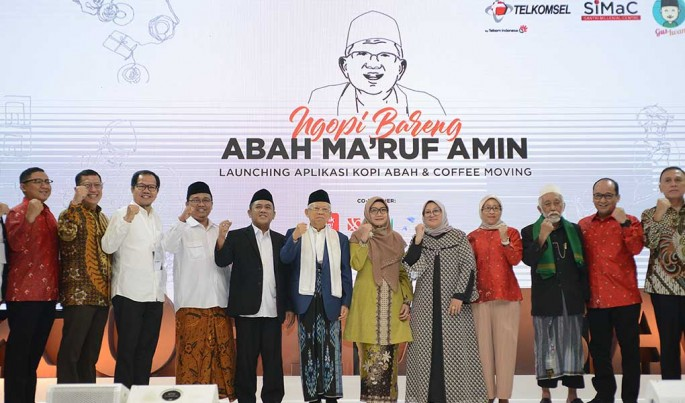 Penandatanganan MoU kolaborasi Telkomsel dengan Santri Milenial Center (Simac) di Jakarta, (9/10). Foto/HendraWiradi/ECONOMICZONE