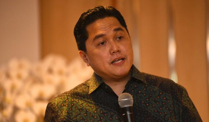Menteri BUMN Erick Thohir.Foto/Roni.M/ECONOMICZONE