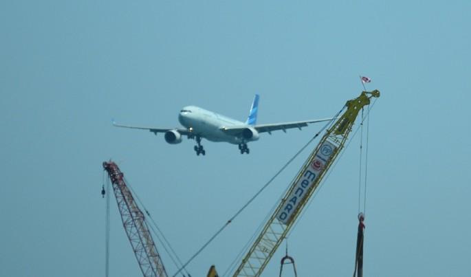 Foto Illustrasi Pesawat Garuda.Foto/Roni.M/ECONOMICZONE