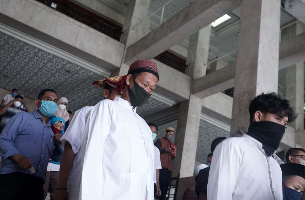 Salat Jumat Pertama Masa Transisi PSBB DKI Jakarta
