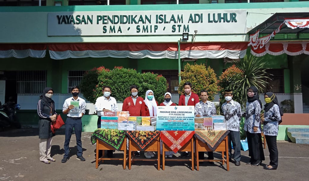 PTPP Peduli Dunia Pendidikan