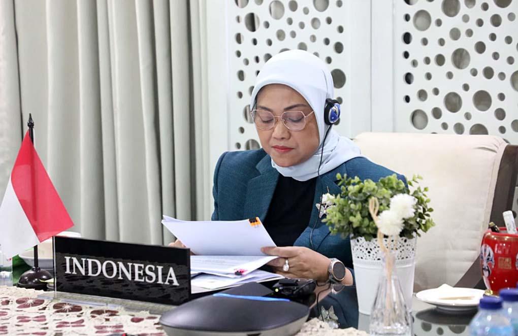 Hadiri Pertemuan Menteri Tenaga Kerja G20, Menaker Ida Paparkan Empat Isu Strategi Ketenagakerjaan