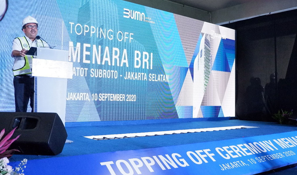 Topping Of Menara BRI