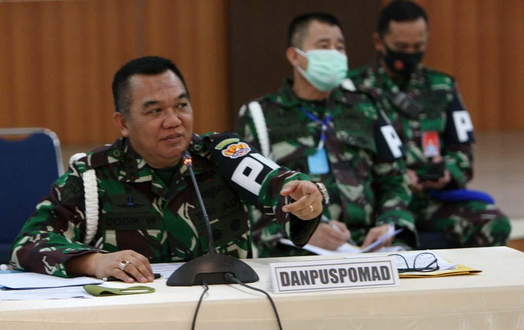 57 Personel TNI AD Ditetapkan Tersangka Kasus Perusakan Mapolsek Ciracas