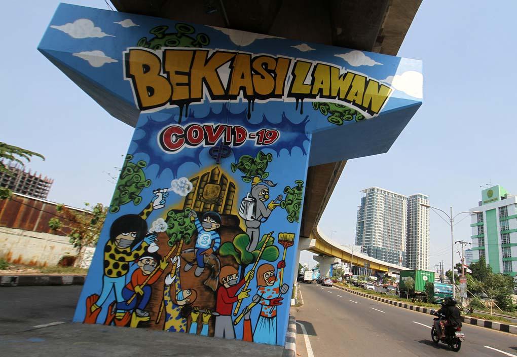 Mural Bekasi Lawan Covid-19