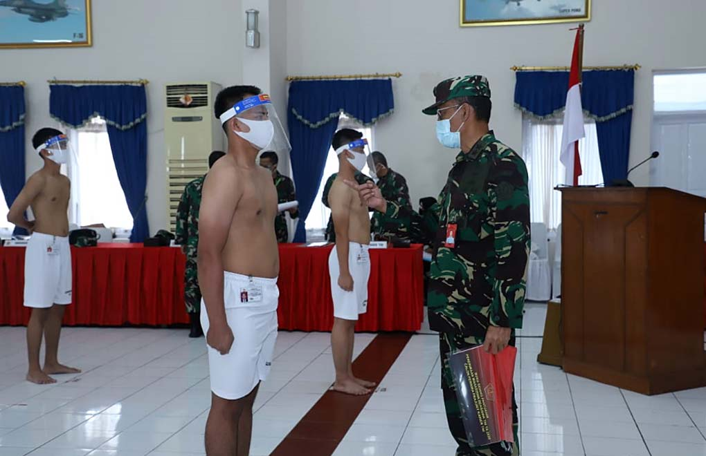 Aspers Panglima TNI Pimpin Sidang Pantukhir Penerimaan Mahasiswa Beasiswa TNI TA 2020