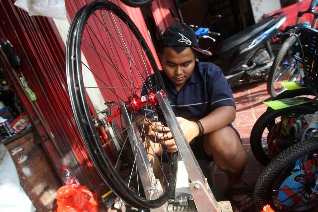 Fenomena Bersepeda Tinggi, di Masa Pandemi Covid-19 Penjualan dan Service Sepeda Meningkat