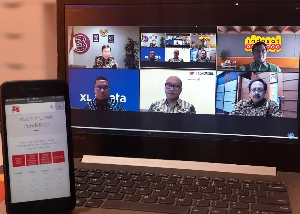 Telkomsel Dukung Program Bantuan Kuota Data Internet dari Kemendikbud RI untuk Kenyamanan Belajar Jarak Jauh
