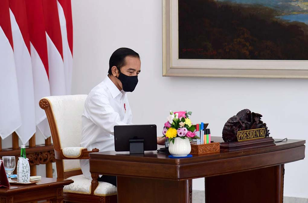 Presiden Jokowi Pimpin Ratas Persiapan Global Platform for Disaster Risk Reduction