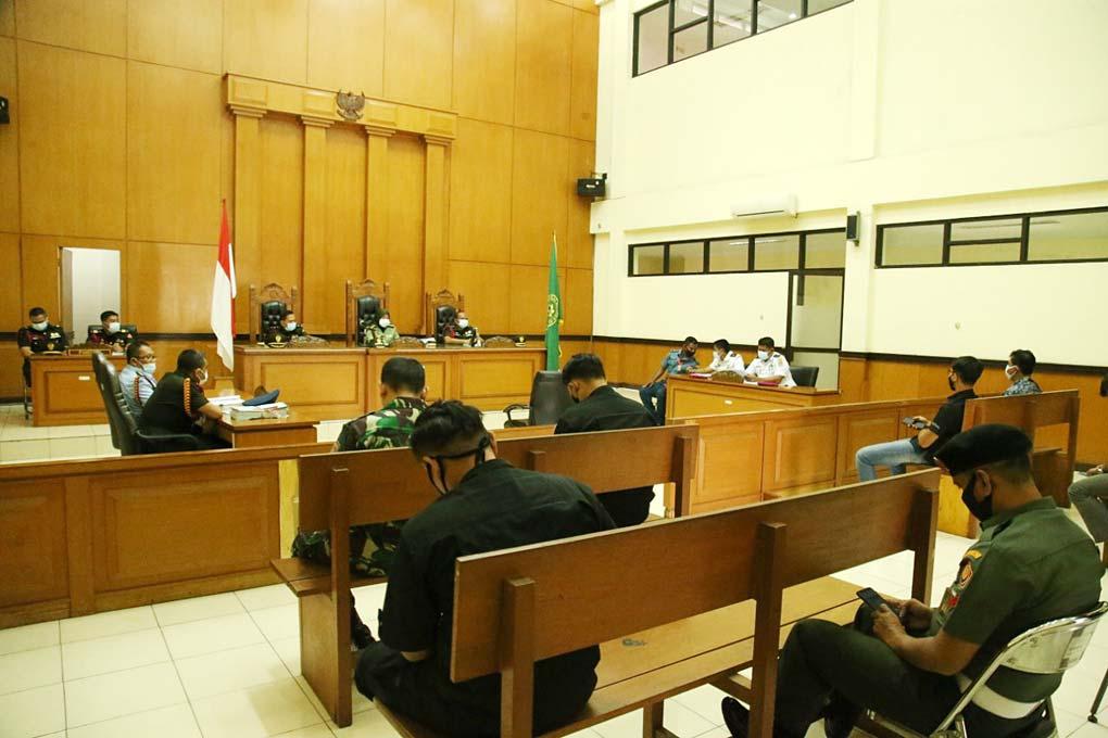 Pelaku Pembunuhan Babinsa Pekojan Dituntut 10 Tahun Penjara