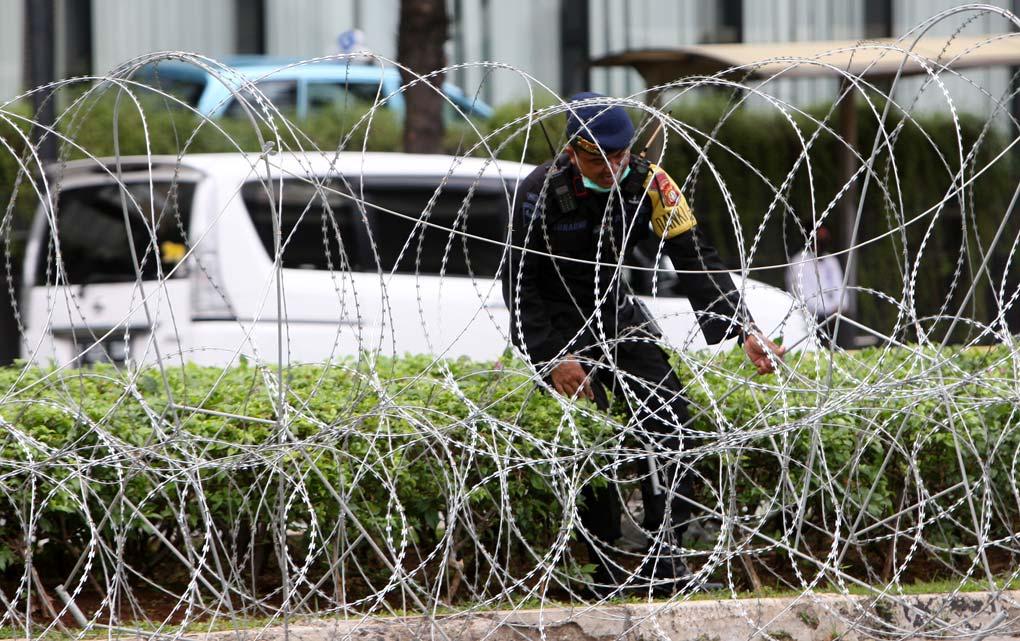 Kedubes Prancis di Jaga Ketat Aparat Kepolisian