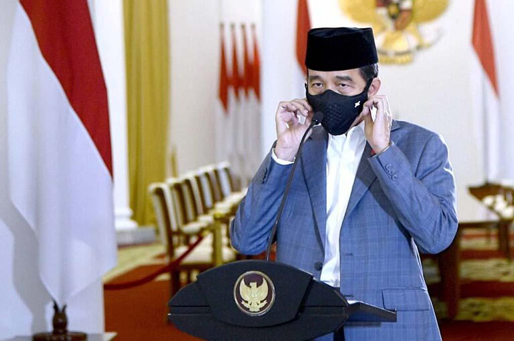 Presiden Jokowi Beri Sambutan pada Peringatan Maulid Nabi Muhammad SAW Tahun 2020