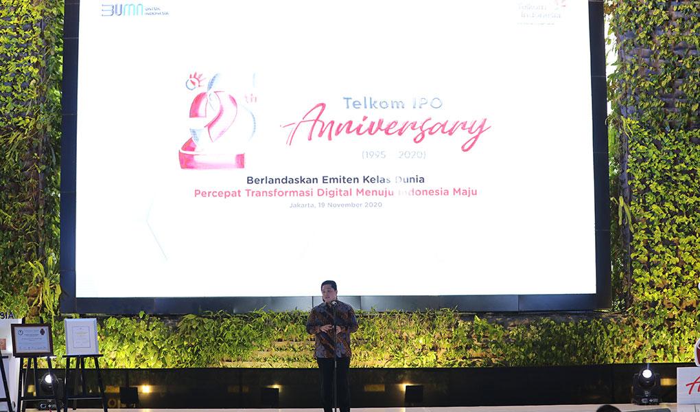 25 Tahun IPO Telkom Anniversary