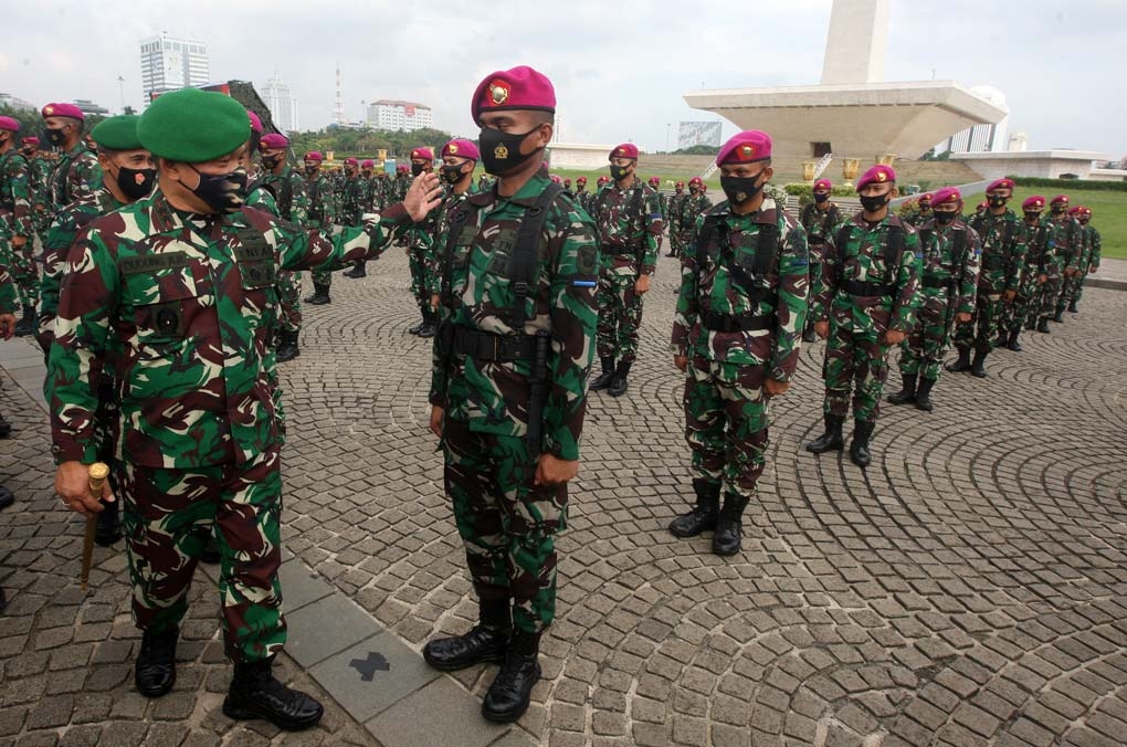 Pangdam Jaya Pimpin Apel Gelar Pasukan