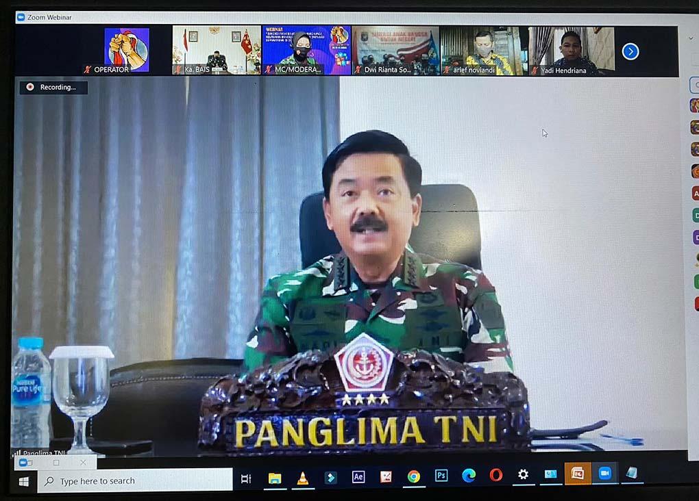 Panglima TNI, Ancaman Separatisme di Dunia Maya Merupakan Ancaman Serius Terhadap Persatuan dan Kesatuan Bangsa