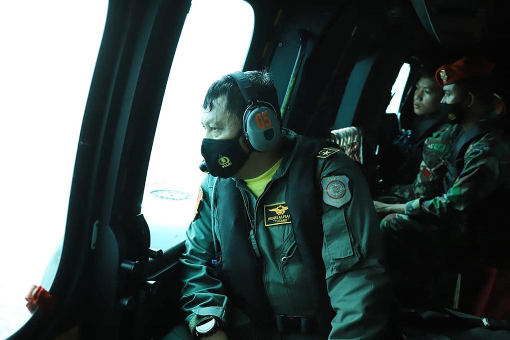TNI AU Kerahkan Alutsista Guna Laksanakan Pencarian Pesawat Sriwijaya SJ-182