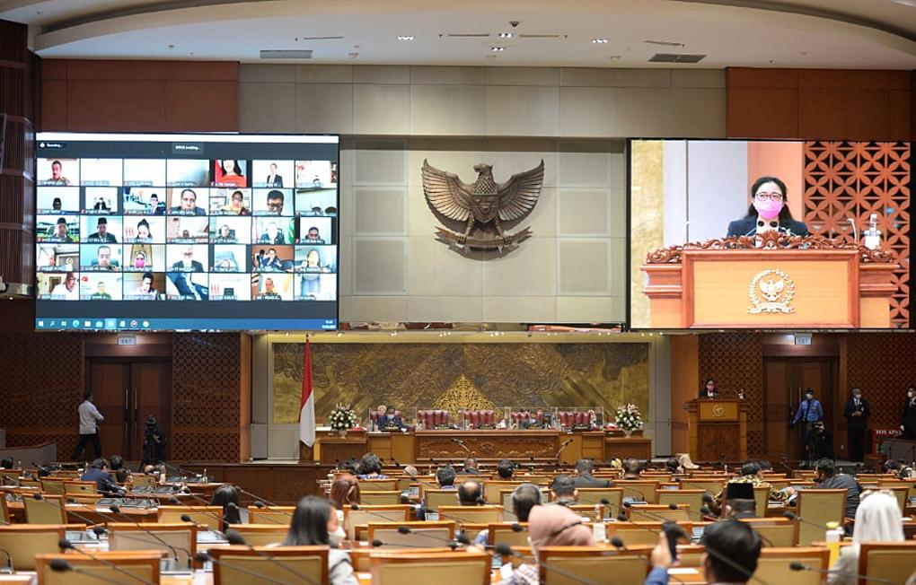 DPR Gelar Rapat Paripurna