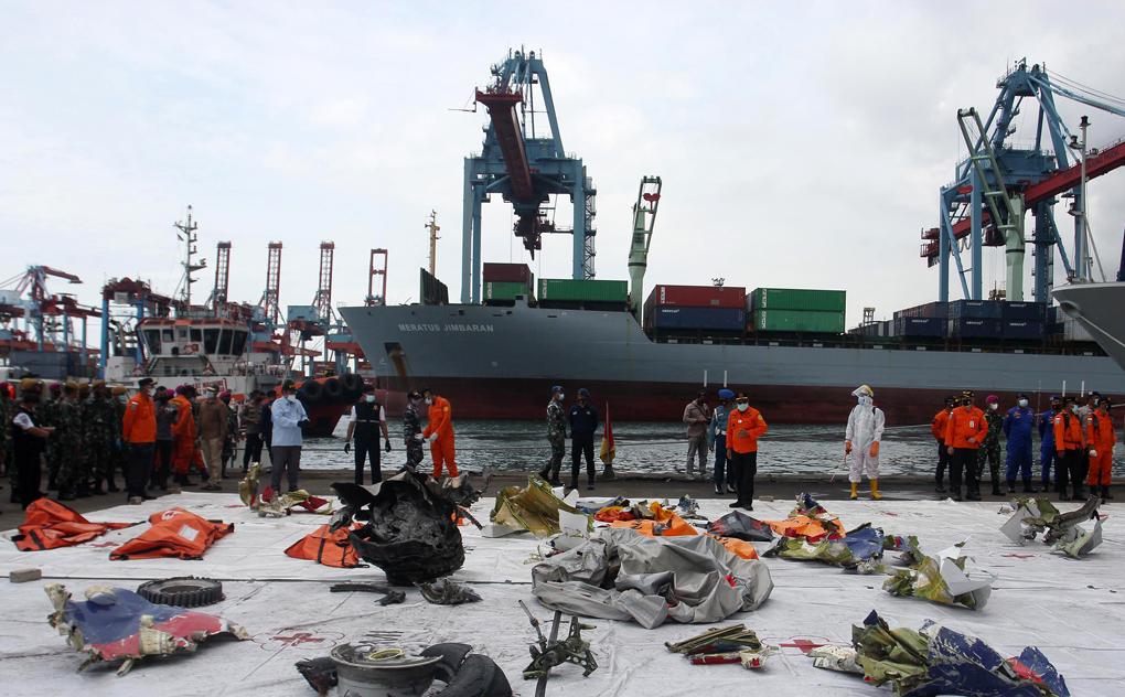 Hari Ke-4 Pencarian Jatuhnya Pesawat Sriwijaya SJ-182