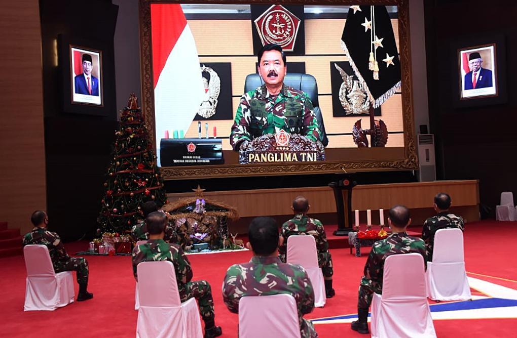 Panglima TNI : Perayaan Natal, Momentum Untuk Memelihara Kerukunan Antara Umat Beragama
