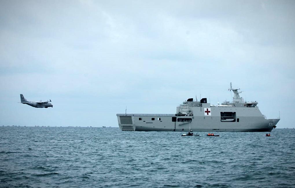 TNI AL Kerahkan Pesawat Patroli Maritim Cari Korban Jatuhnya Pesawat Sriwijaya Air SJ-182