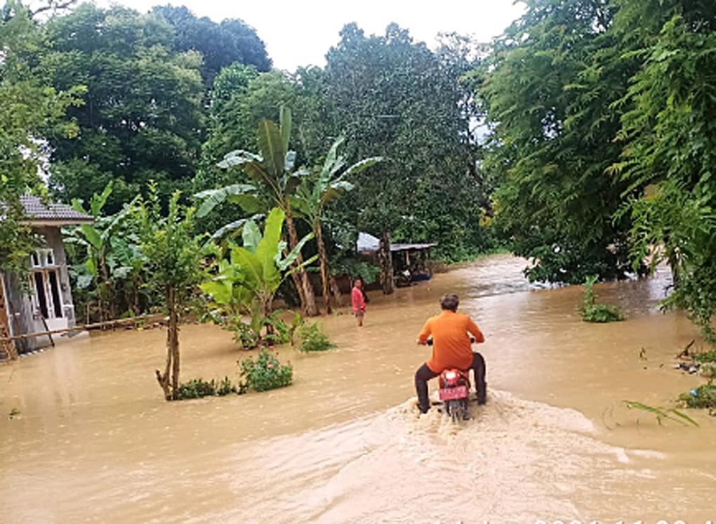 BPBD Hulu Sungai Selatan Lakukan Penanganan Darurat Banjir