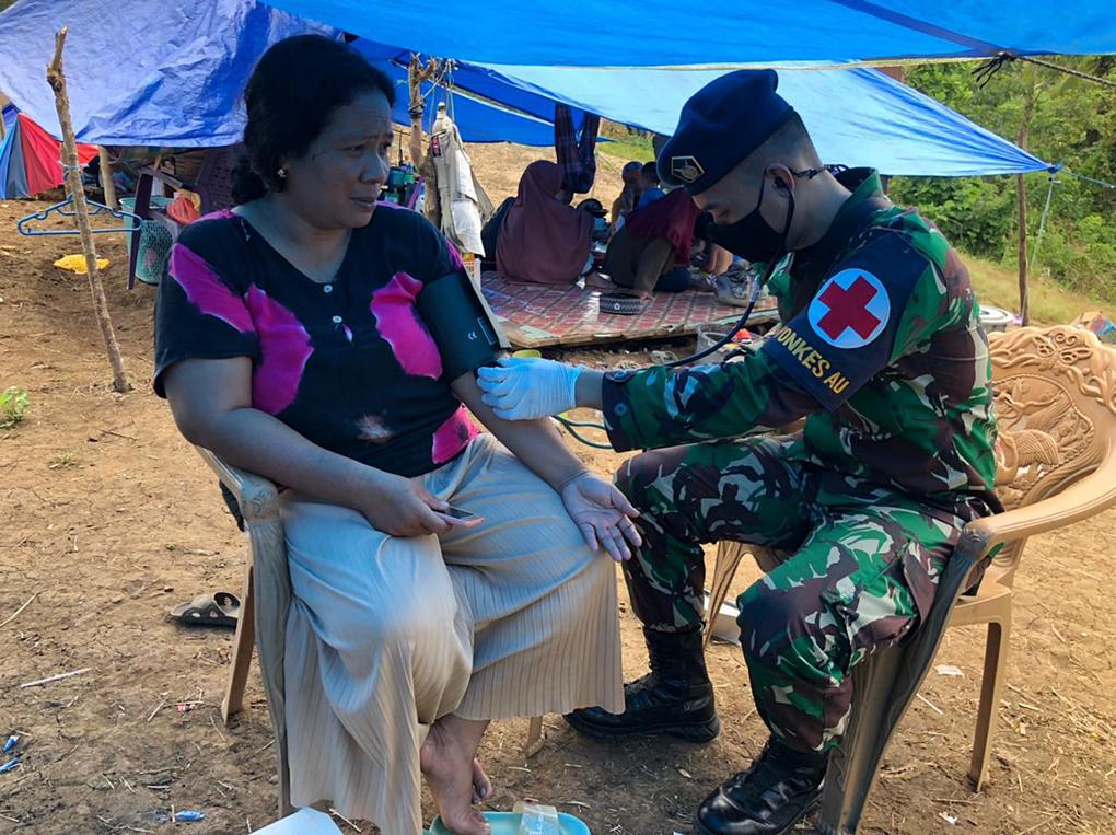 Layanan Kesehatan Untuk korban gempa Sulbar