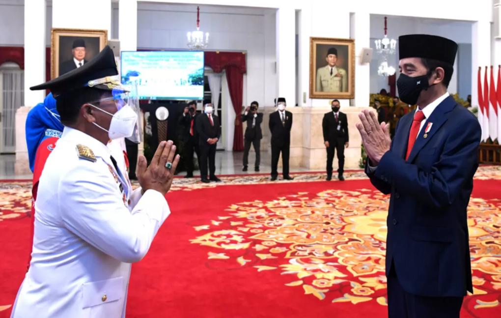 Presiden Jokowi Lantik Gubernur Dan Wakil Gubernur Kalimantan Utara Dan Sulawesi Utara