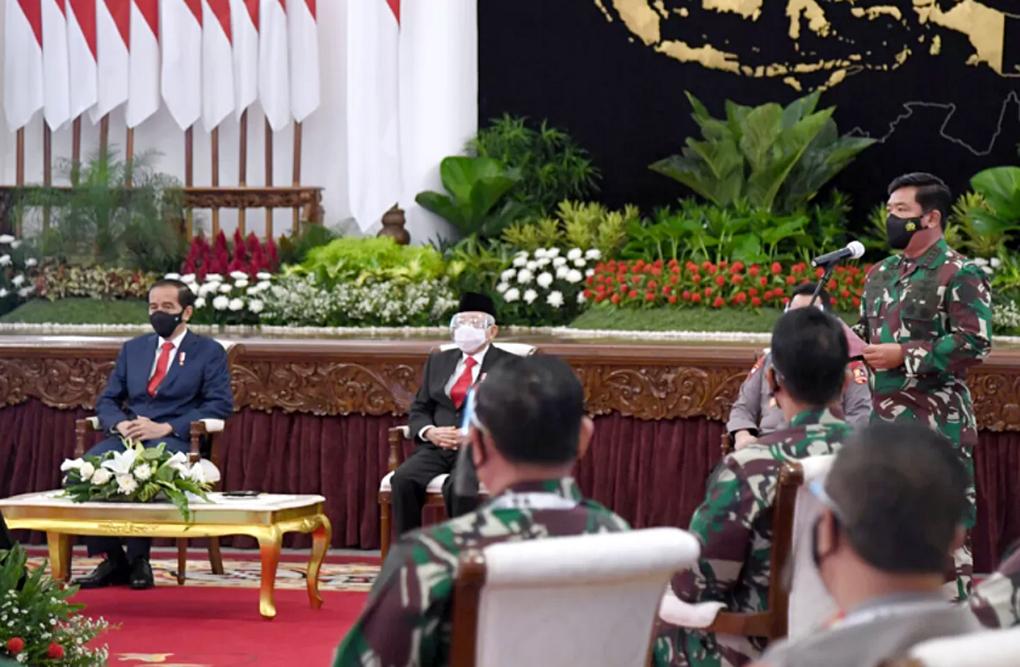 Presiden Jokowi Berikan Arahan Pada Rapim TNI-Polri Tahun 2021