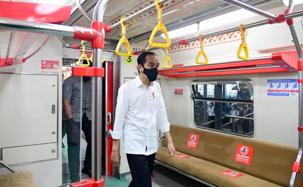 Presiden Jokowi Resmikan Operasional KRL Lintas Yogyakarta-Solo