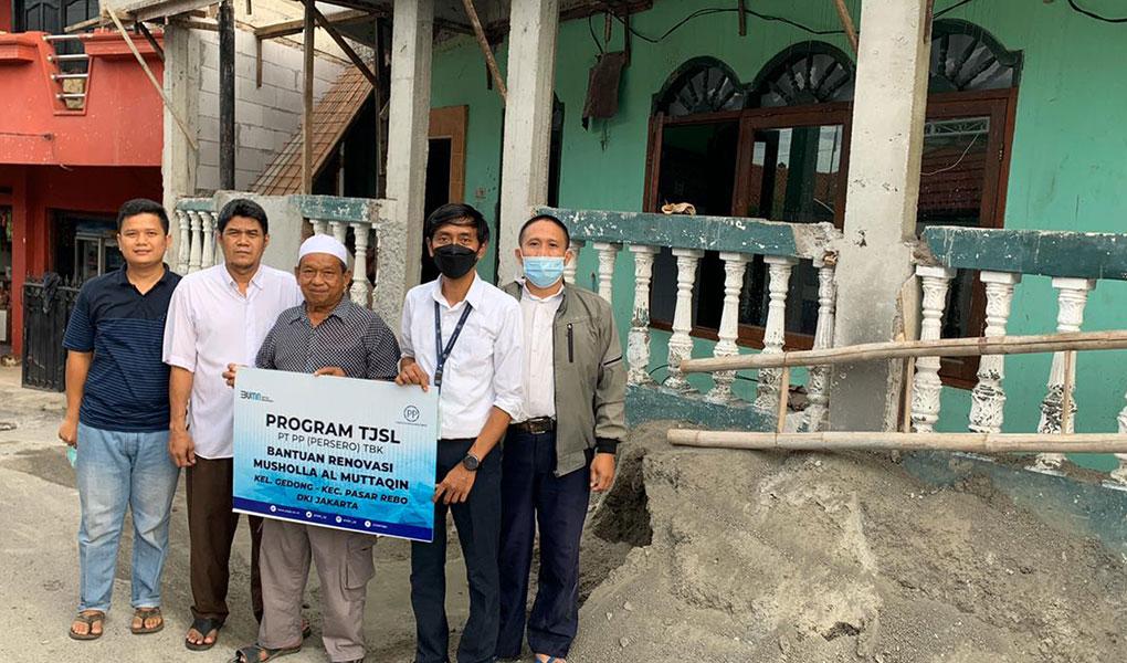PTPP Cepat Tanggap Beri Bantuan Korban Bencana