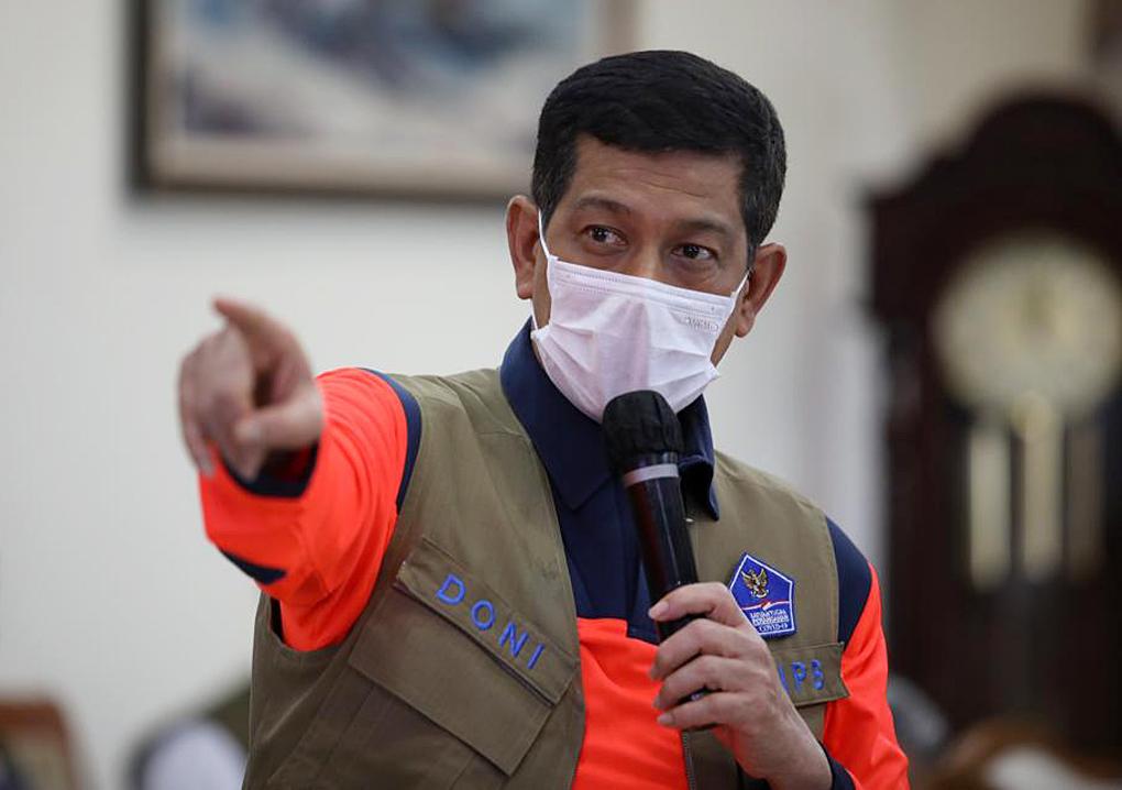 Ketua Satgas Ingatkan Jatim Agar Tingkatkan Pemeriksaan Pintu Masuk Luar Negeri