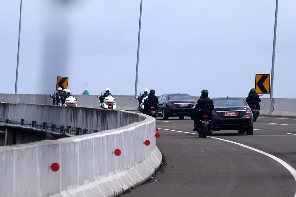 Presiden Jokowi Resmikan Jalan Tol di Tangerang Selatan