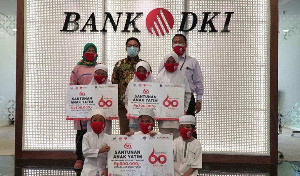 Bank DKI Berikan Santunan Untuk Anak Yatim