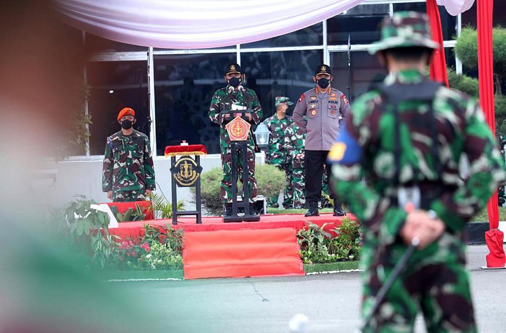 Panglima TNI: Latsitarda Nusantara Merupakan Momentum Bangun Sinergi TNI-Polri Dengan Komponen Bangsa