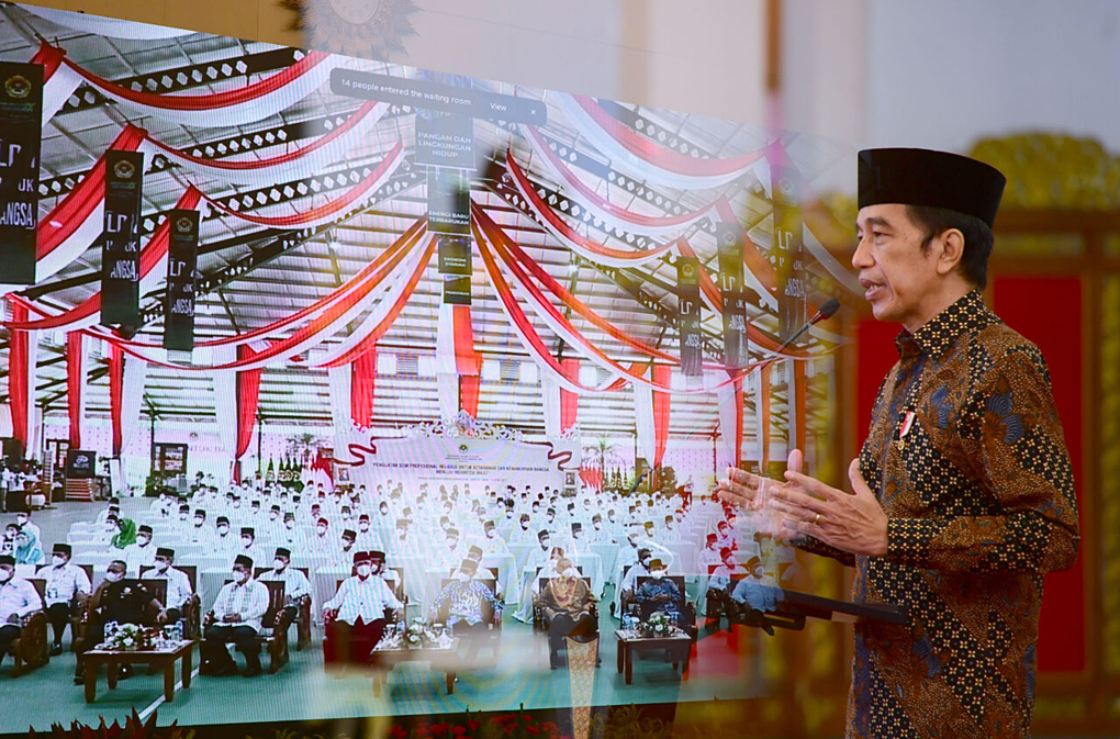 Presiden Jokowi Buka Munas IX LDII Tahun 2021