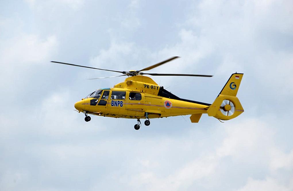 BNPB Kerahkan Enam Helikopter Guna Penanganan Darurat Bencana NTT