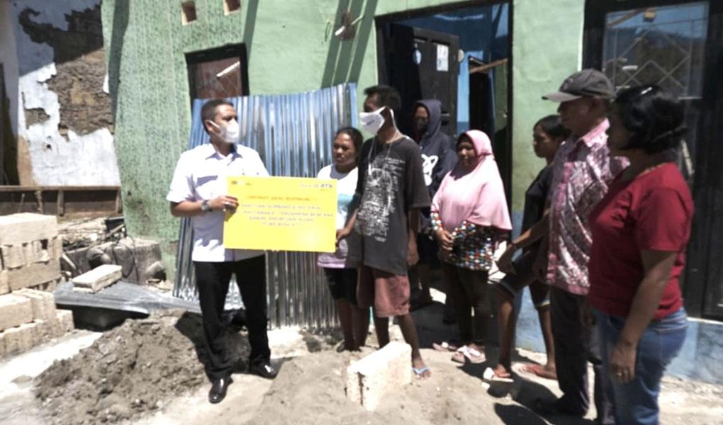 BTN Bantu Ratusan Rumah Terdampak Bencana NTT
