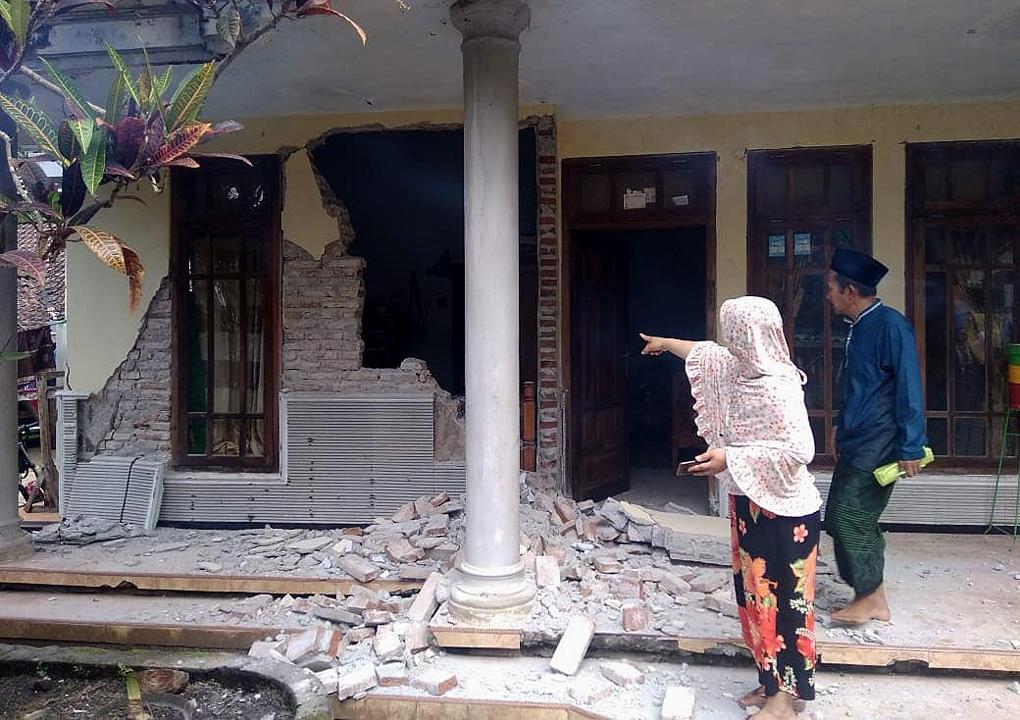 Sebanyak 16 BPBD Kabupaten/Kota se-Jatim Laporkan Dampak Kerusakan Gempa Selatan Malang