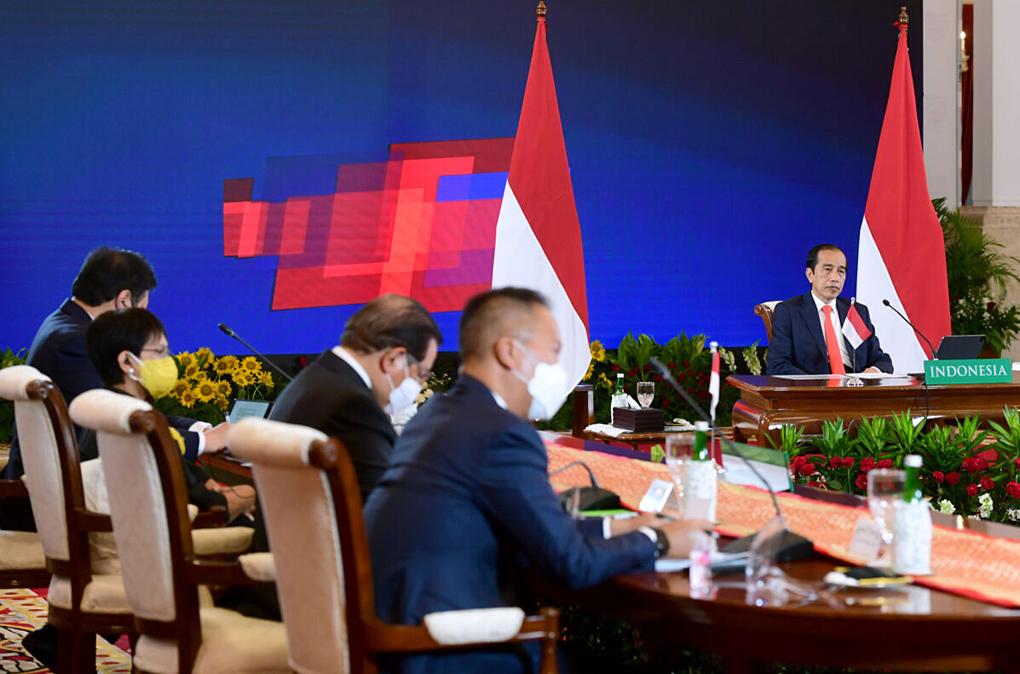 Presiden Joko Widodo dan Kanselir Jerman Membuka Ajang Hannover Messe 2021